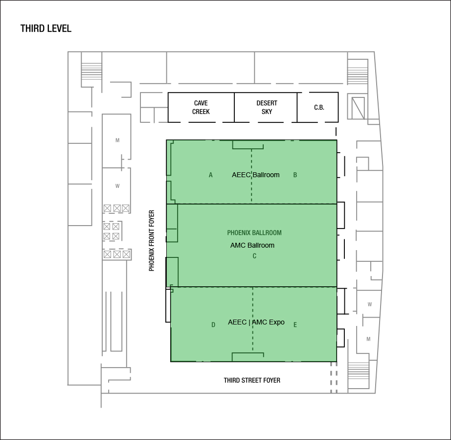 Third Level Conference Layout